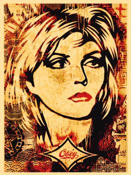 Shepard Fairey, Debbie Harry