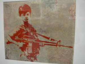 Shepard Fairey, Duality of Humanity 4 Rubylith