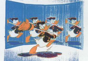Andy Warhol, Donald Duck - Anniversary Donald Duck