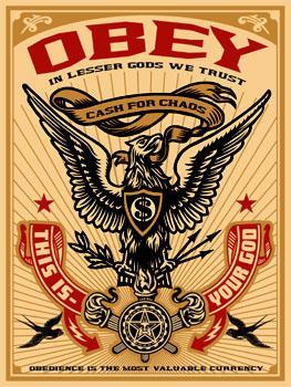 Shepard Fairey, Lesser Gods Eagle