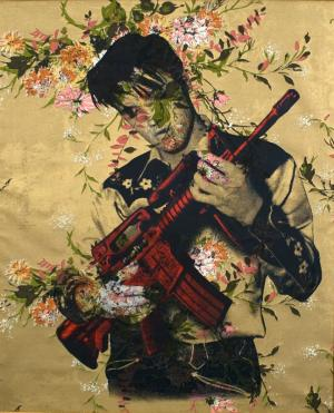 Mr. Brainwash, Elvis (Flowers)