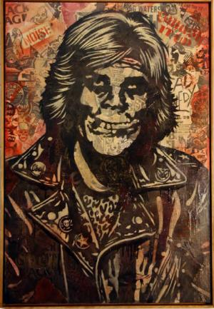 Shepard Fairey, Fiend Rocker Canvas