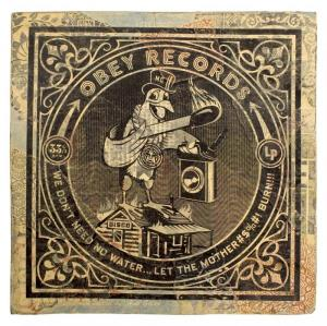 Shepard Fairey, Fire Bird Album Cover HPM