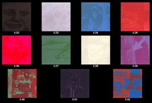 Andy Warhol, Flash November 22, 1963 Suite of 11