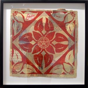 Shepard Fairey, Floral Pattern 1 HPM
