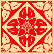 Shepard Fairey, Floral Pattern 1
