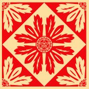 Shepard Fairey, Floral Pattern 6