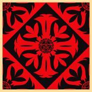 Shepard Fairey, Floral Pattern 7