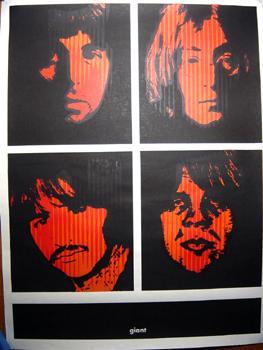 Shepard Fairey, Four Giant Beatles Orange