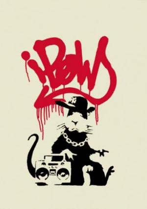 Banksy, Gangsta Rat Unsigned