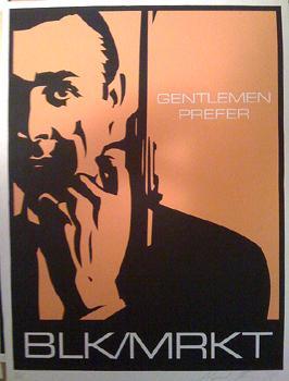 Shepard Fairey, BLK/MRKT Gentlemen Prefer