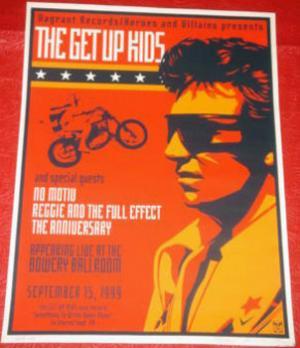 Shepard Fairey, The Get Up Kids 1999