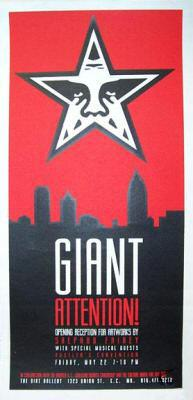 Shepard Fairey, Giant Attention