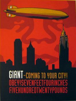 Shepard Fairey, Giant Zeppelin