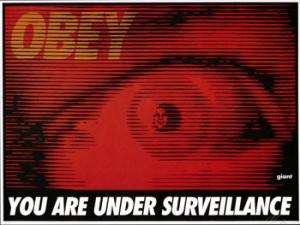 Shepard Fairey, Surveillance Red
