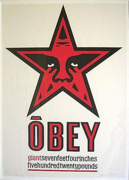 Shepard Fairey, Giant Star Obey