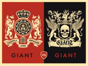 Shepard Fairey, Giant vs Giant