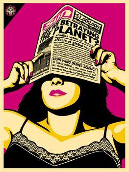 Shepard Fairey, Global Warning Warhol