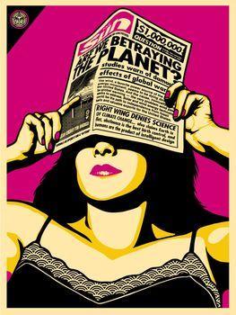 Shepard Fairey, Global Warning Warhol