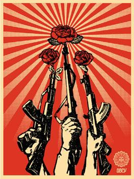 Shepard Fairey, Guns and Roses