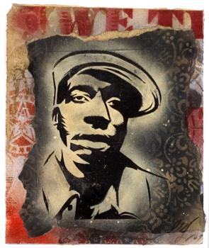 Shepard Fairey, Grandmaster Flash (Swindle) Retired Stencil