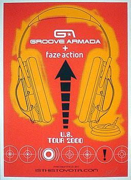 Shepard Fairey, Groove Armada