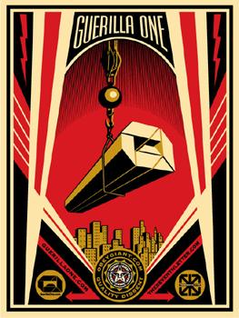 Shepard Fairey, Guerilla One
