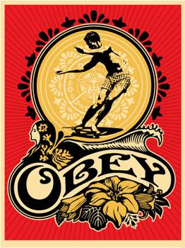 Shepard Fairey, Hawaii Skater
