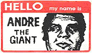 Shepard Fairey, Hello My Name is (Paster)