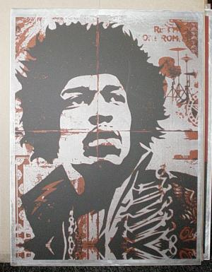 Shepard Fairey, Hendrix on Metal