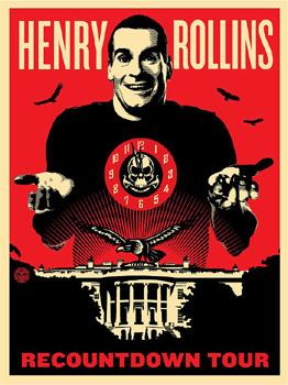 Shepard Fairey, Henry Rollins Recountdown Tour