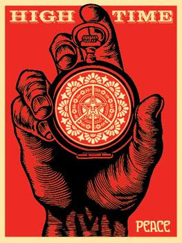 Shepard Fairey, High Time for Peace