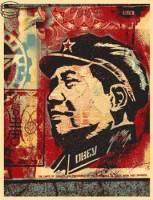 Shepard Fairey, Mao Collage 