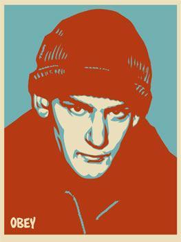 Shepard Fairey, Ian MacKaye