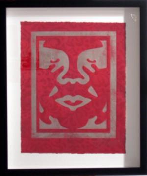 Shepard Fairey, Icon Monoprint 3