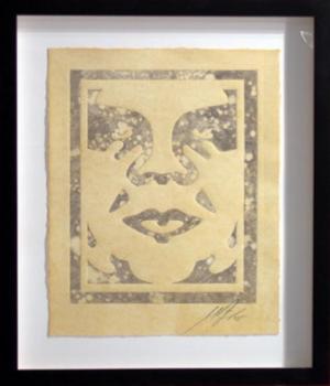Shepard Fairey, Icon Monoprint 5