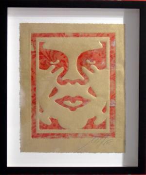 Shepard Fairey, Icon Monoprint 6