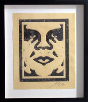 Shepard Fairey, Icon Monoprint 7