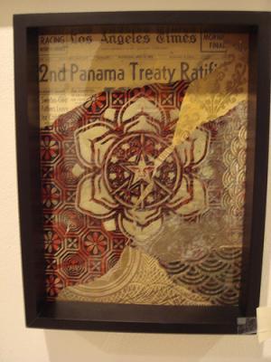 Shepard Fairey, Panama Treaty