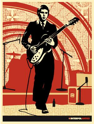 Shepard Fairey, Interpol Daniel
