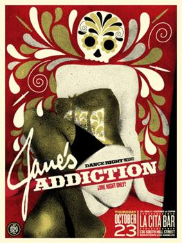 Shepard Fairey, Jane's Addiction (Matt Goldman)