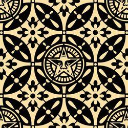 Shepard Fairey, Japanese Pattern 2 Black