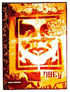 Shepard Fairey, Japan Stencil