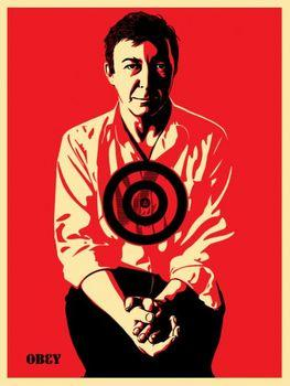 Shepard Fairey, Jasper Johns Red