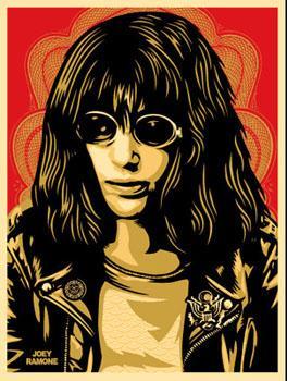 Shepard Fairey, Joey Ramone Red