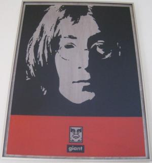 Shepard Fairey, John on Metal