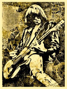 Shepard Fairey, Johnny Ramone Gold