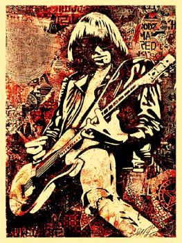 Shepard Fairey, Johnny Ramone Red