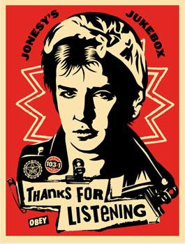 Shepard Fairey, Jonesy&#039;s Jukebox 