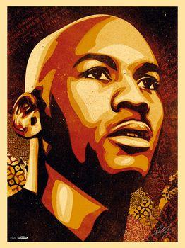 Shepard Fairey, Jordan Hall of Fame Portrait